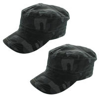 $4.99 2-Pack of Totes Isotoner Military Style Camouflage Cadet Cap - 100% Cotton