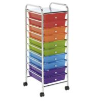 $23.99 Recollections™ 10 Drawer Rolling Organizer