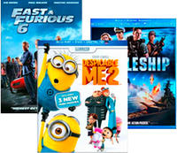 Get a 3rd Free Select Movies on Blu-ray or DVD @ Best Buy