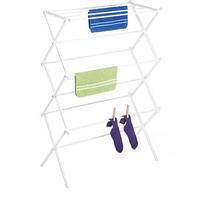 $18.00 Whitmor White Foldable Drying Rack@Walmart