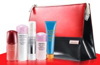FREE 6-Pc. Gift Set when you buy 2 skincare products @ Shiseido