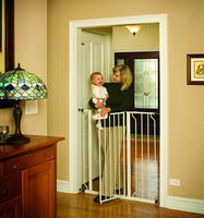 $34.99 Regalo Easy Step Extra Tall Walk Thru Gate - White