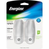 $5.99 Energizer Automatic LED Night Light (2-Pack) in White