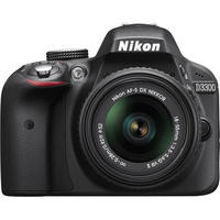 $429.99 Nikon D3300 24.2 MP DSLR with 18-55mm VR II Lens + Adobe LR5 (Factory Refurbished)