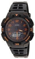 $28.99 Casio Men's Slim Solar Multifunction Analog / Digital Watch AQS800W-1B2VCF