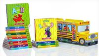 $16.99 Sesame Street ABCs and 123s 16-Book Bus