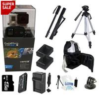 $518.00 GoPro Hero 3+ Black Edition + All You Need Extreme Outdoor Bundle Kit