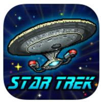 Free downloads of Star Trek Trexels for iPhone, iPad, and iPod Touch