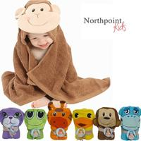 $9.99 Northpoint Kids 100% Cotton Animal Character Towels