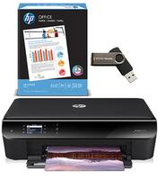 $69.00 HP Envy 4502 Inkjet e-All-in-One Wireless Printer + FREE Flash Drive + FREE Print Paper