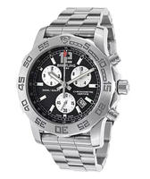 $2399.00 Breitling Men's Colt II Chronograph Silver-Tone Steel Black Dial Watch