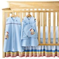 $54.98 HALO SleepSack 5-Piece Bumper-Free Crib Set, Dog