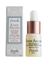 Free Elixir Ancien Anti-Aging Treatment (0.17 oz.) with your $50 Fresh® purchase. A $39 value