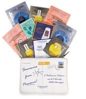 Receive 10 Free Samples  With Any Purchase @ L'Occitane