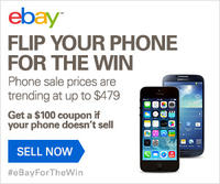 Get A $100 eBay Coupon If Your Phone Don't Sell @ eBay