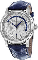 $2295.00 Frederique Constant Worldtimer Mens Watch FC-718WM4H6