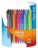 $2.01 PaperMate, InkJoy 100RT, Retractable Ballpoint Pens, Medium Point, Assorted Ink Colors, 20/Pack