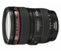 $619.99 New Canon 24-105mm f/4L IS USM Lens 1-Year Canon US Warranty with Pouch and Hood
