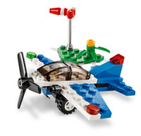 Upcoming! Free to Build a LEGO Racing Plane @ LEGO Brand Retail