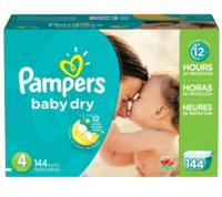 $25 Off $75 on Pampers Diapers and Wipes