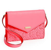 $112.56  kate spade 'cedar street perforated Monday' leather crossbody bag