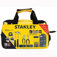 $9.96 Stanley 38-PC Homeowners Tools Set in Bag