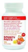 $12.11 or Lower SmartyPants Vitamins Gummy Vitamins with Omega 3 Fish Oil and Vitamin D, 120 Count