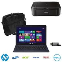 From $299 Back to Class Laptop Value Bundle (Choice of Laptop, Case, Flash Drive & Printer)