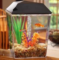 $9.97 AquaView 1-Gallon Aquarium Tank Starter Kit