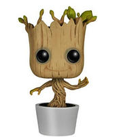 $9.99 Funko POP! Marvel: Dancing Groot Bobble Action Figure
