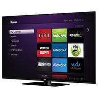 "$899.99  JVC 65"" Class 1080p 120Hz Smart LED HDTV w/Roku Streaming Stick (model# EM65FTR)"
