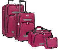$50.00 U.S. Traveler Westport 4-Piece Luggage Set