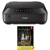 $74.99 Canon PIXMA MG5520 Wireless Inkjet Photo All-in-One - Black w/ Photoshop Lightroom 5