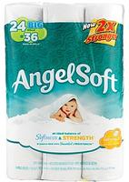 $7.99 Angel Soft Big Rolls Bathroom Tissue 24-Pack
