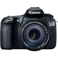 $759.99 Canon EOS 60D Digital SLR Camera w/18-135mm Lens
