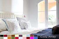 $16.49 1800 COUNT DEEP POCKET 4 PIECE BED SHEET SET - 12 COLORS AVAILABLE IN ALL SIZES