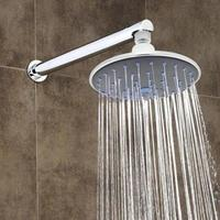 "$9.99 Home Collections 6.25"" Chrome Plated Steel Rain Shower Jumbo Shower Head"