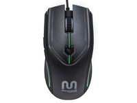$9.43 6-Key Gaming Mouse with Comfort Grip and Adjustable Sensor Rate (800/1200/1600/2400)