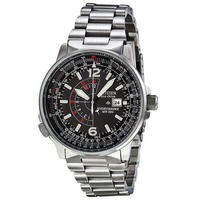 $169.99 Citizen Men's Eco-Drive Nighthawk Stainless Steel Watch (BJ7000-52E)