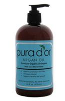 $20.99 Pura d'or Hair Loss Prevention Premium Organic Shampoo, Brown and Blue, 16 Fluid Ounce