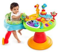 $69.00 Bright Starts Comfort & Harmony 3-in-1 Around We Go! Activity Station, Zippity Zoo