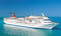 From $109 4 Night Bahamas Cruise on the Carnival Ecstasy