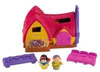 $14.88 Fisher-Price Little People Disney Princess Snow White Cottage Play Set