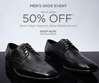50% OFF ALL MEN'S SHOES! Featuring Bruno Magli, Magnanni, Steve Madden & More @ Saks Off 5th