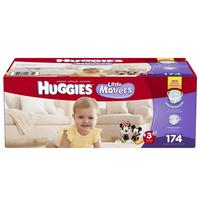$4 Off + Up to 20% Off Huggies Little Movers Diapers