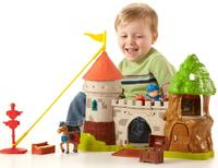 $16.5 Fisher-Price Mike the Knight: Glendragon Castle Playset