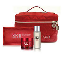 Free 4 Pc Gift with $400 SKII Purchase + Free sample-filled bag with $125 beauty purchase @ Neiman Marcus