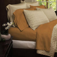 $29.99-$34.99 4-Piece Set of Hotel Comfort 1800 Series Organic Bamboo Bed Sheets(Full/King/Queen)