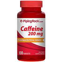 $1.99 Piping Rock Caffeine Tablets