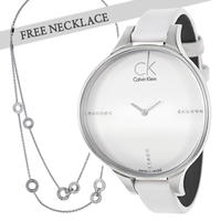 $148.00 Calvin Klein Women's Glow Watch K2B23137